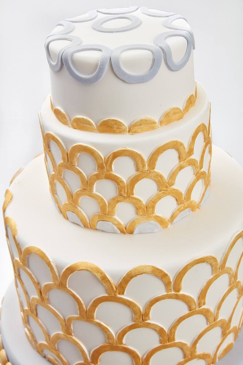 Art Deco | Clare Anne Taylor Couture Cakes
