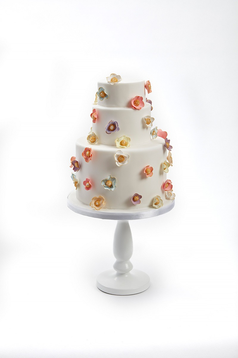 Blossoms in Multicolour | Clare Anne Taylor Couture Cakes