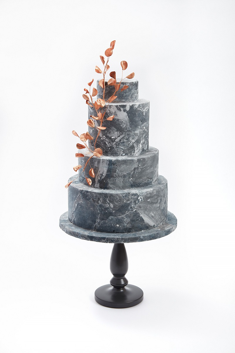 Bronze & Marble | Clare Anne Taylor Couture Cakes