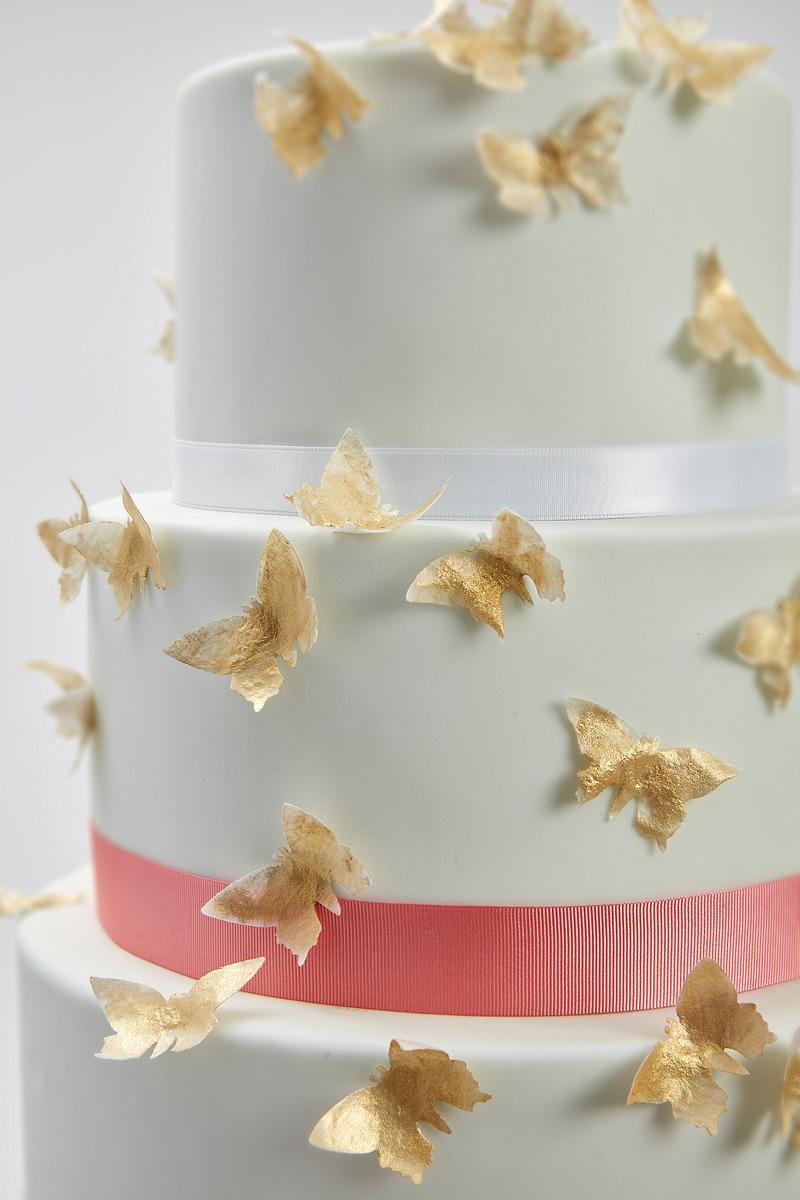 Flight of the Butterflies | Clare Anne Taylor Couture Cakes