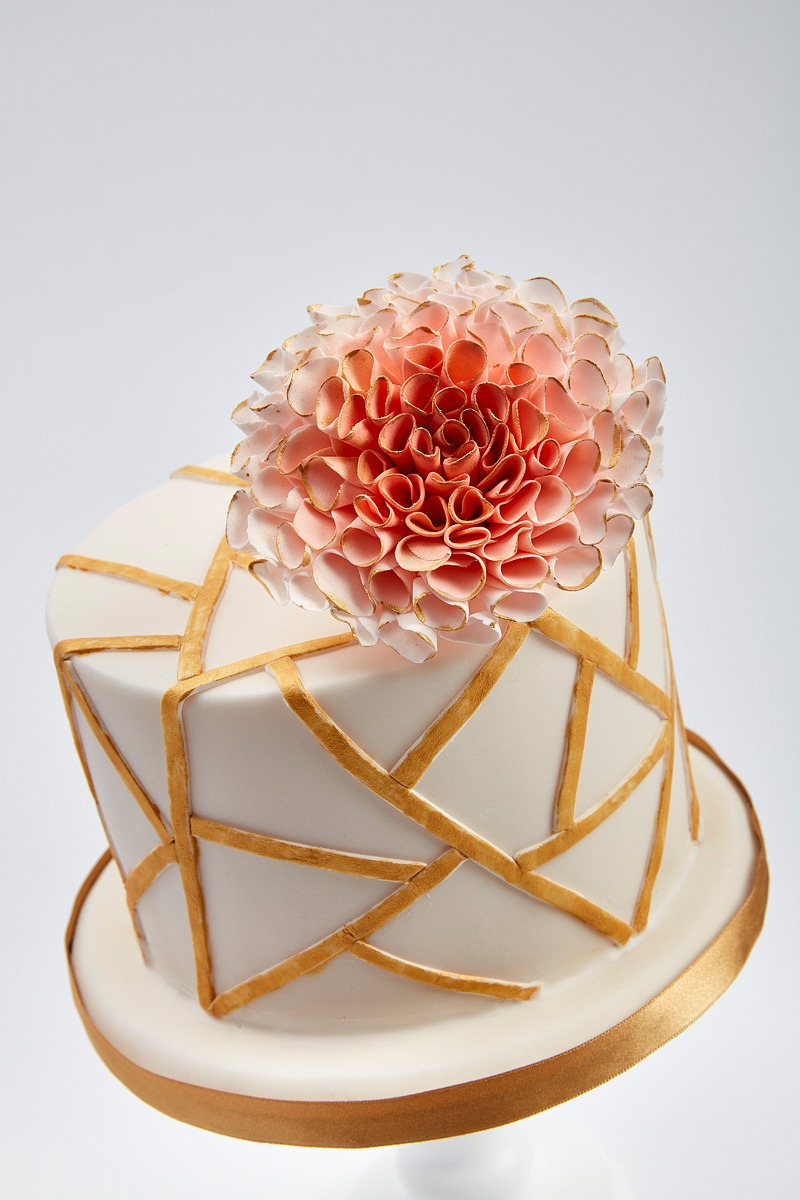 Gatsby's Dahlia | Clare Anne Taylor Couture Cakes
