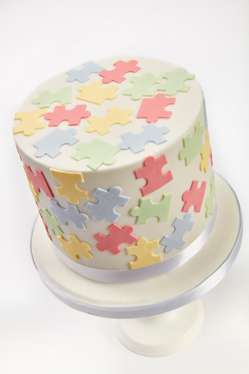 Jigsaw Cake | Clare Anne Taylor Couture Cakes