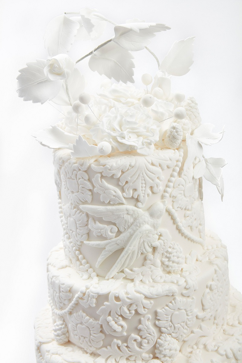 Opulence in Bas Relief | Clare Anne Taylor Couture Cakes