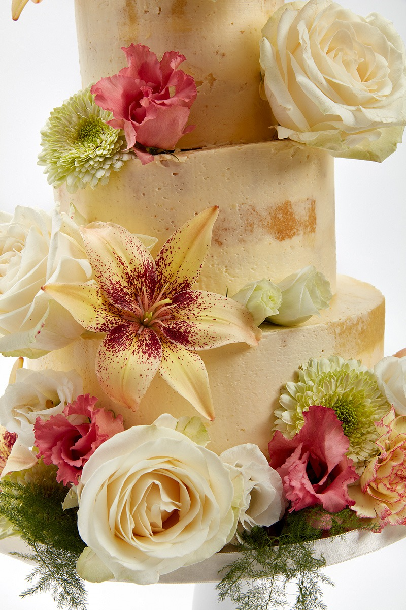Semi Naked Buttercream | Clare Anne Taylor Couture Cakes