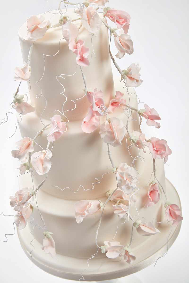 Sweet Pea Love | Clare Anne Taylor Couture Cakes