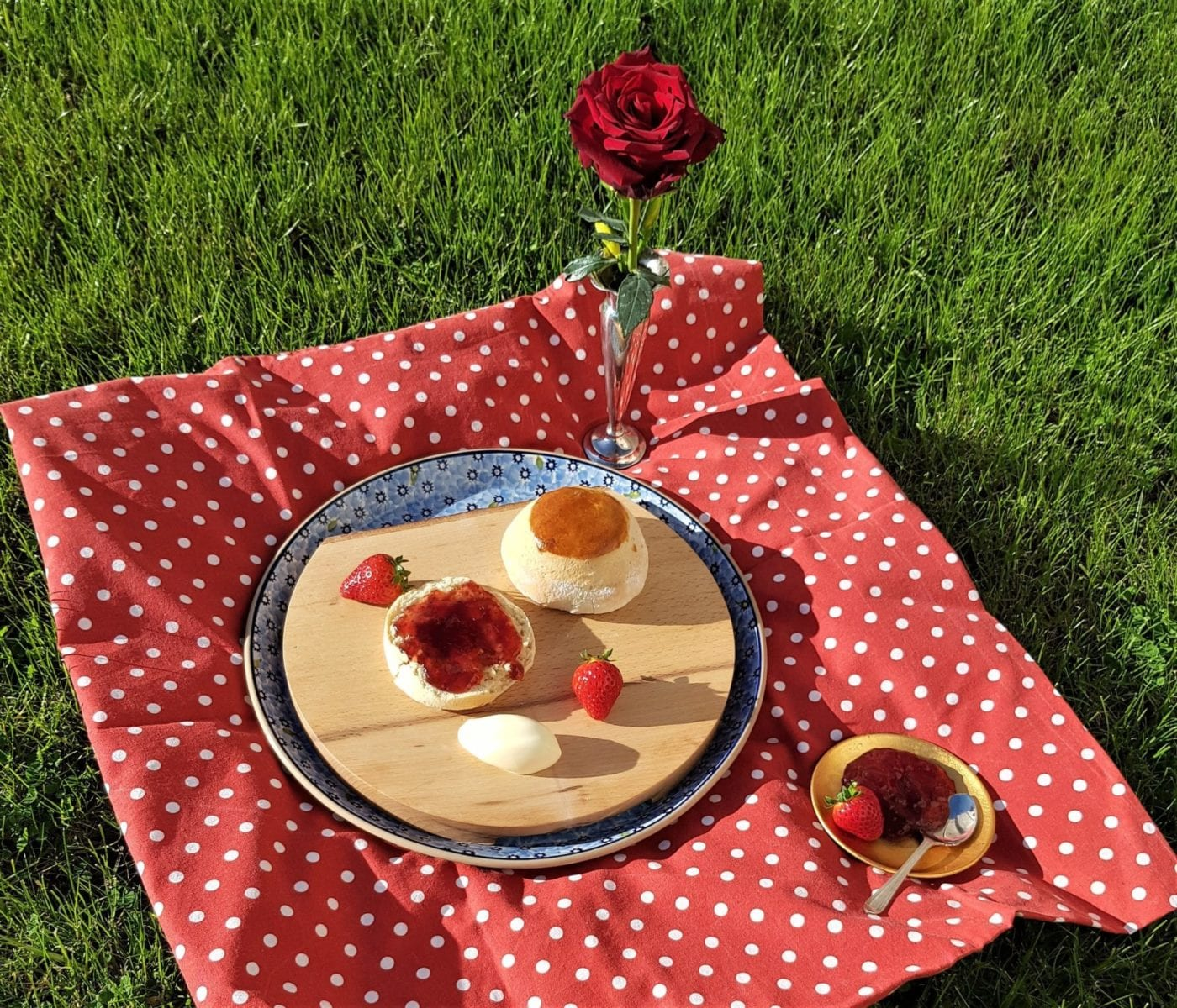 Summer Scones and Strawberry Jam